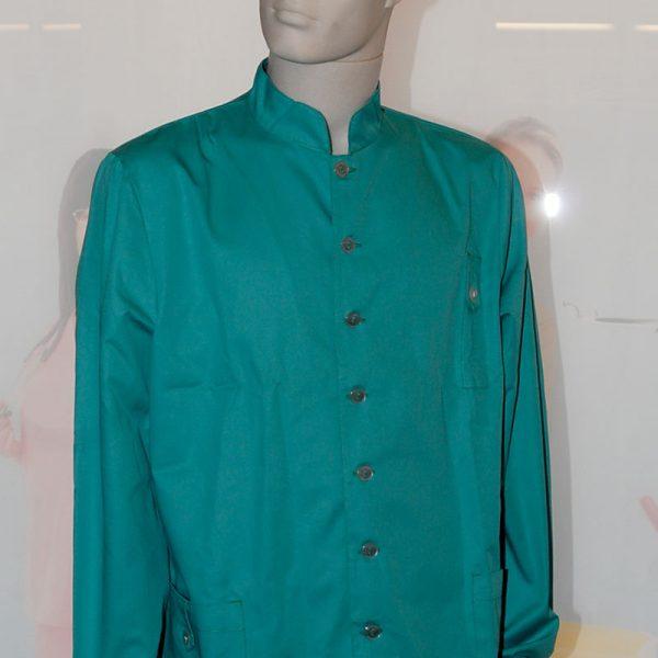 Casacca coreana 5 bottoni elastico maniche
