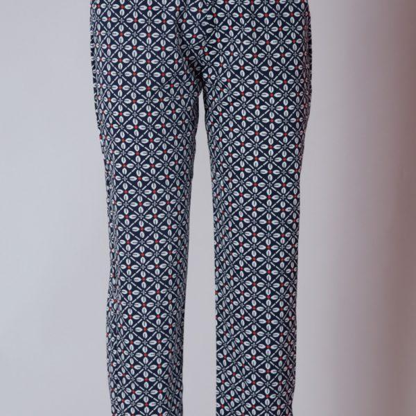 Pantalone donna elastico in vita e taschine