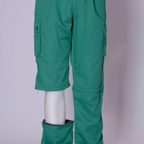 Pantalone con Tasconi Divisibile a Bermuda