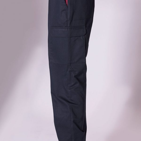 Pantalone con Tasconi con Inserti Bicolore